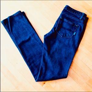 Patagonia Straight Leg Organic Cotton Blue Jeans